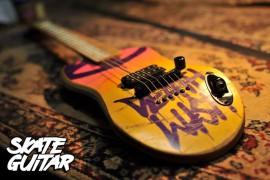 Galasso skeitborda ģitāras.