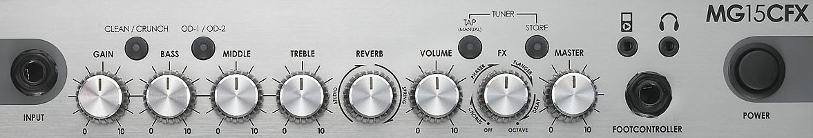 Marshall_MG15CFX_controls