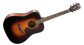 Jauni Cort Earth Series akustisko ģitāru modeļi
