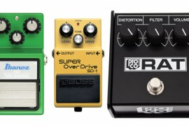 Par Fuzz, Overdrive un Distortion pedāļiem