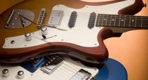 Italia DiVill F100 Elektriskā ģitāra