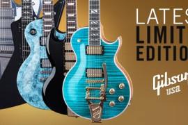 Seši jauni elektriskās ģitāras modeļi no Gibson