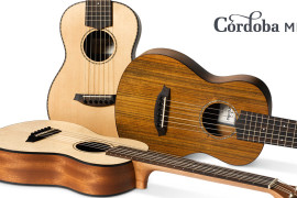 Cordoba pārsteidz ar mini izmēra ģitārām